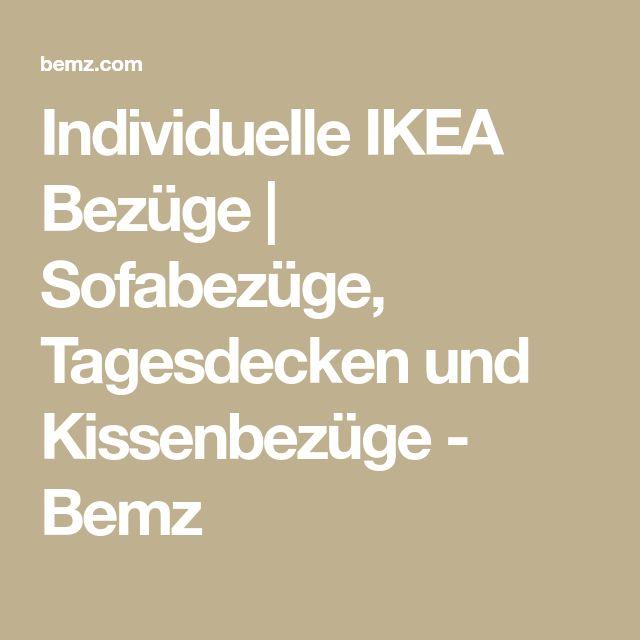 Individuelle IKEA Bezüge | Sofabezüge, Tagesdecken und Kissenbezüge - Bemz
