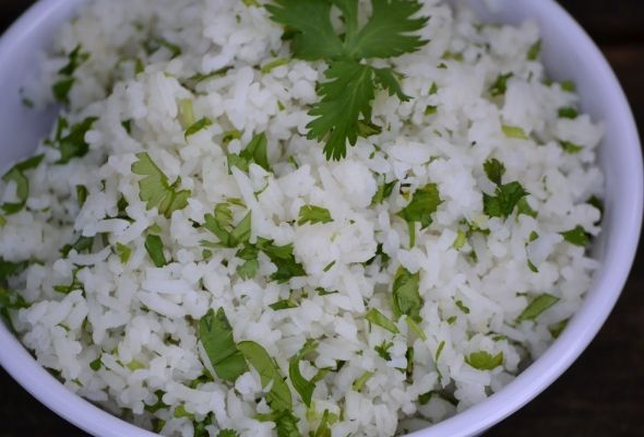 Weight Watchers Cilantro Lime Rice-Just made this to go with the slow ...