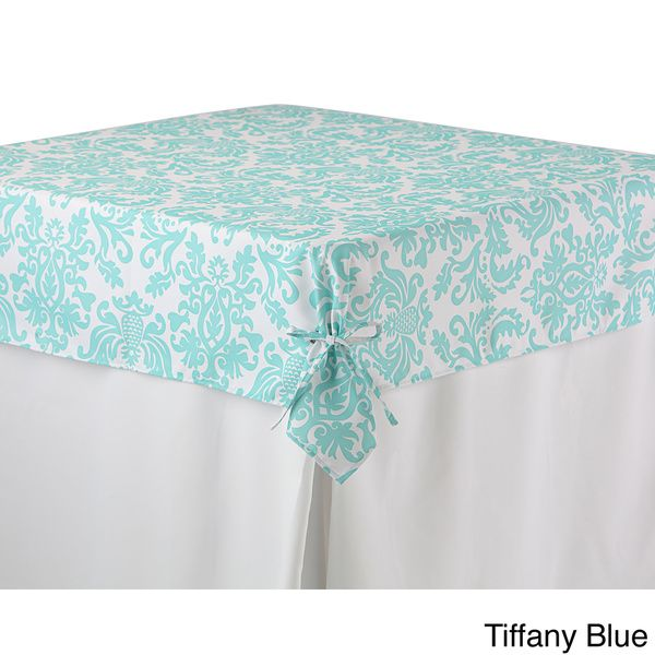 Printed Fitted Tablecloth Topper Fitted Tablecloths