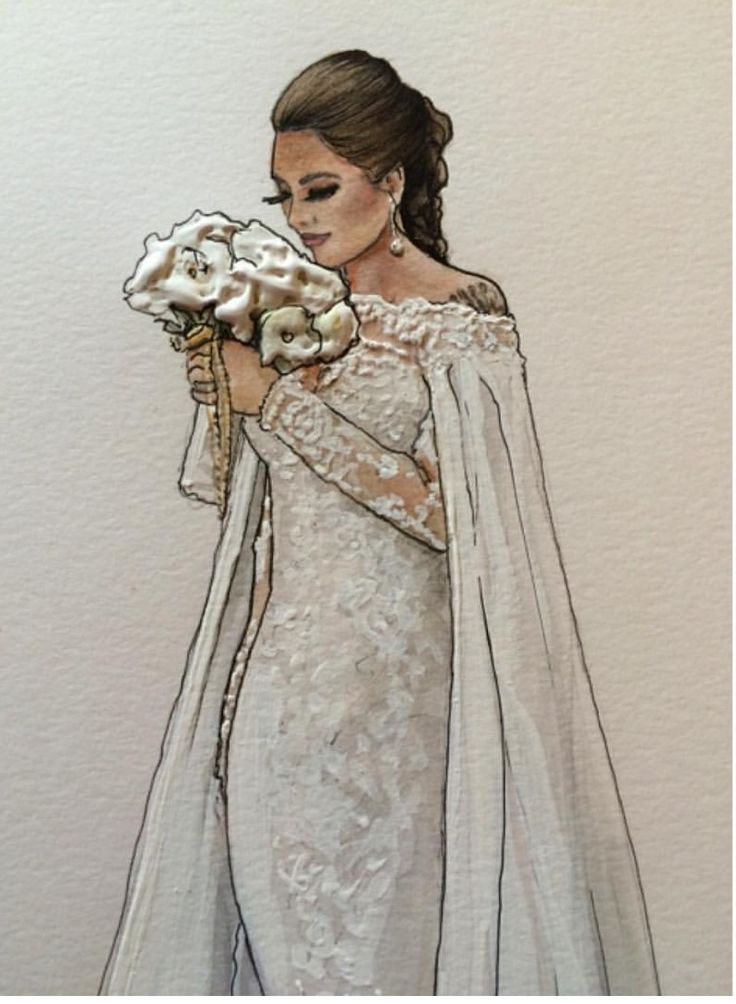 Alyssa details wearing @michaelcostello- #Brides #Wedding  @karenorrillustration| Be Inspirational❥|Mz. Manerz: Being well dressed is a beautiful form of confidence, happiness & politeness