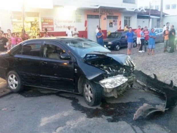 Cazuza: Ladrão rouba carro e bate veículo durante fuga em ...