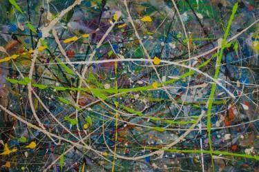 "Saatchi Art Artist Sam Radja; Painting, ""GREEN PATH"" #art"