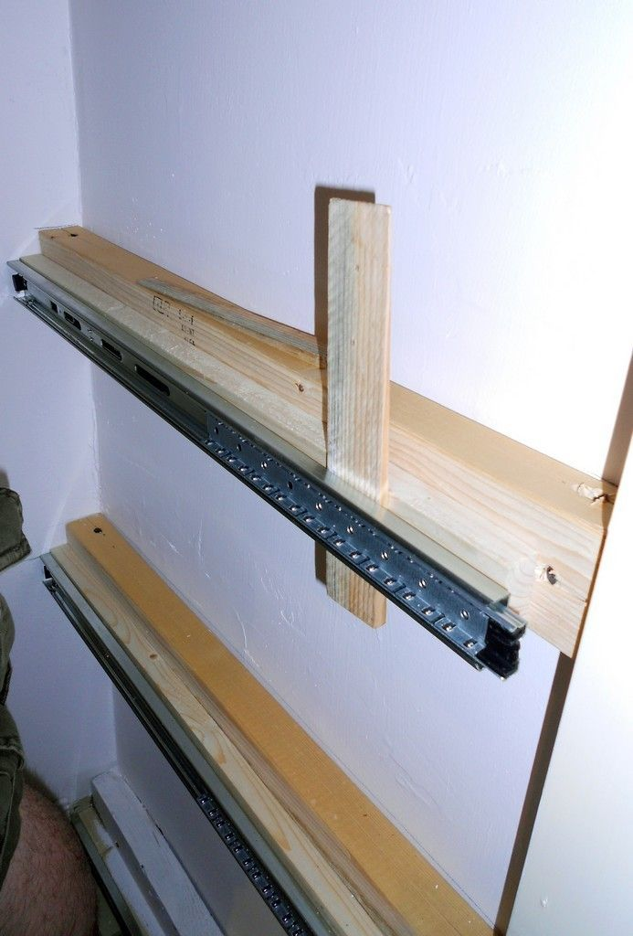 Adding Sliding Drawers To Cabinets Narrow Slide Out Pantry Pull