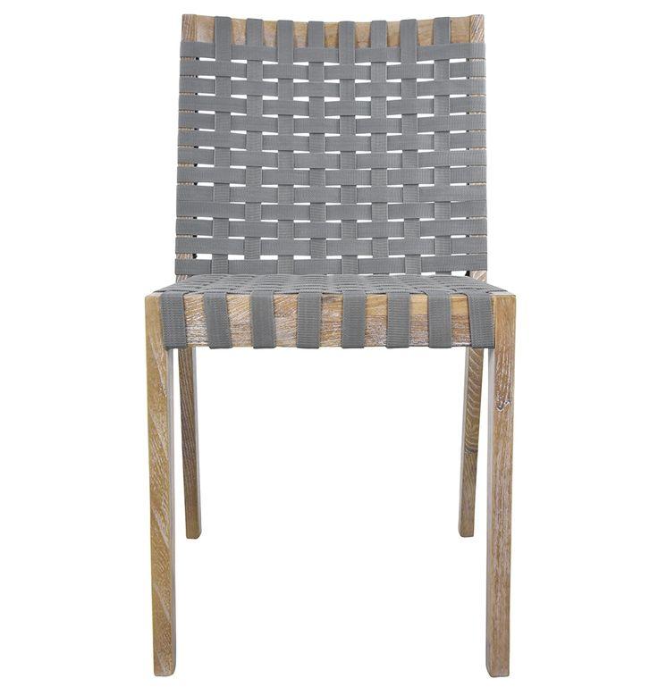 Vervo Outdoor Dining Chair - Matt Blatt Robinia timber $295