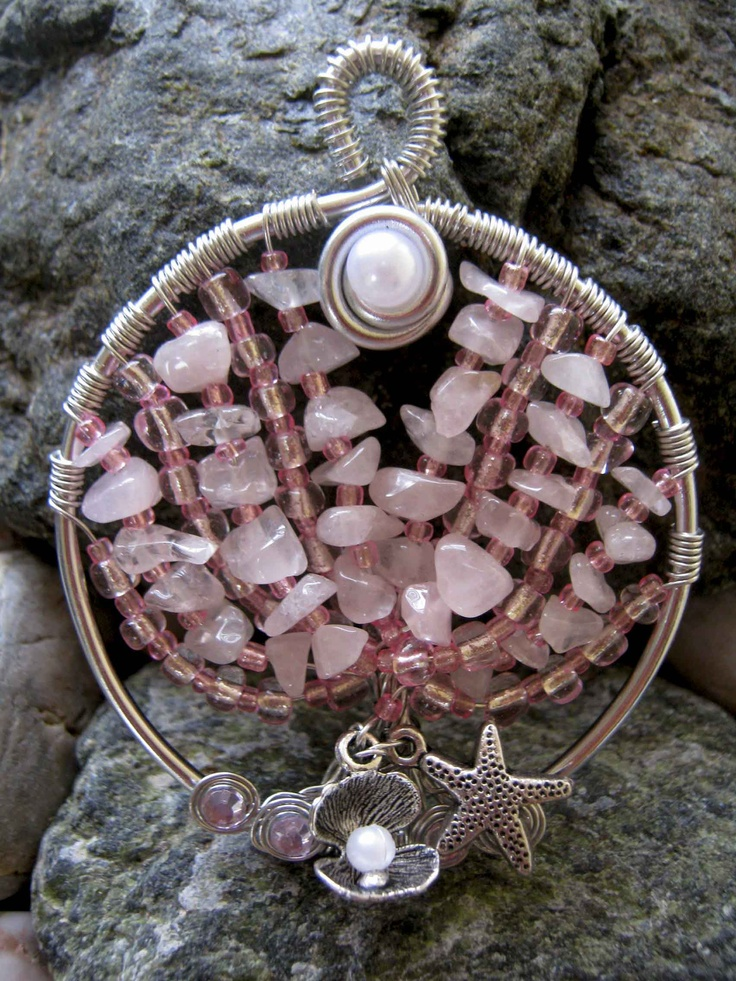 Tree of Life - Rose Quartz Coral Tree