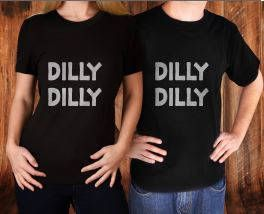 Dilly Dilly Unisex T-Shirts available to purchase individual or purchase for couples. Introductory price starting at just $16.99 in my #etsy shop: Dilly Dilly T-Shirt, Unisex T-Shirt, Dilly Dilly Couples Shirt, Dilly Dilly Shirt, Dilly Dilly Dinking Shirt, Mens T-Shirt, Ladies T-Shirt #clothing #women #tshirt #womanstshirt #unisexshirt #ladiestshirt #dillydillytshirt #dillydilly #dillyshirt