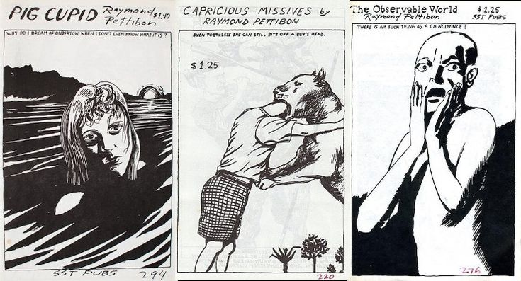 Of Tripping Corpses and New Wavy Gravy: Raymond Pettibon's 80s zines were the best thing ever