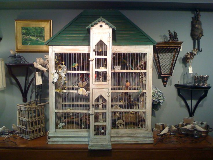 Foxtrot Musings...: Antique bird cages