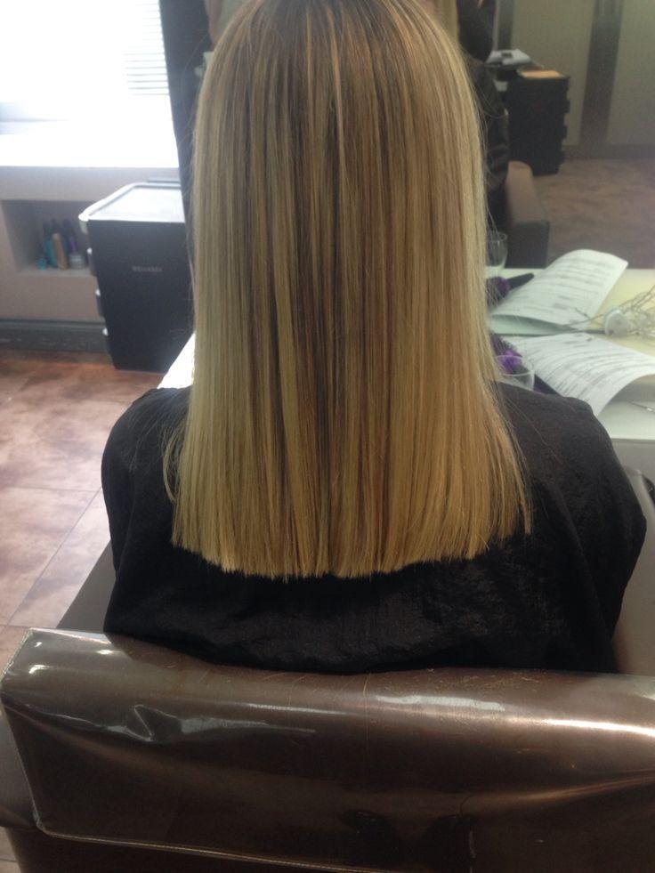 16 3 2016 After One Length Hair Cut Hair One Length