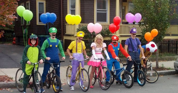 35 Fun Group Halloween Costumes for You and Your Friends-A collection of creative DIY Group Halloween Costumes.