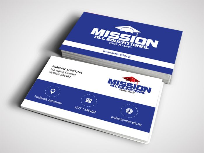 Business Cards In Biratnagar Is The Best Way To Introduce Your Customers Let You Customer Find Out And Address