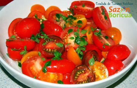 Ensalada de Tomates Heirloom