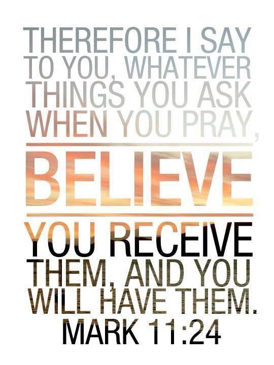 Ask.Believe.Recieve..best life motto ever.