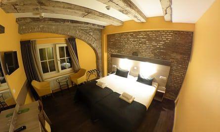 Bedroom at City Hotel, Amsterdam