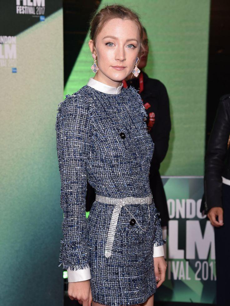 WHO: Saoirse Ronan WHERE: On Chesil Beach premiere, London WHEN: October 8, 2017