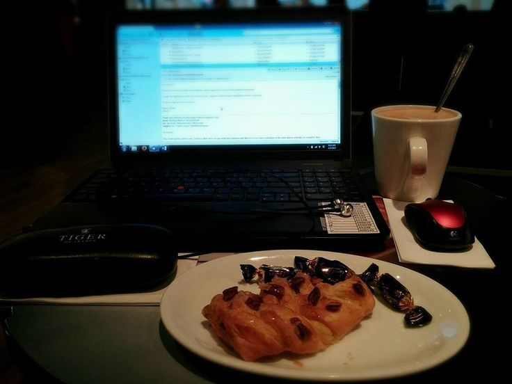 Another day remote at Coffee House. This time with a few goodies to get the creative juices flowing!