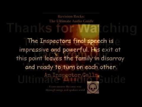 An Inspector Calls - the Inspector's role