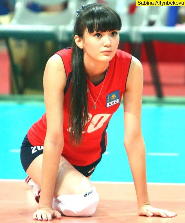 Sabina Altynbekova - Kazakhstan Volleyball Player