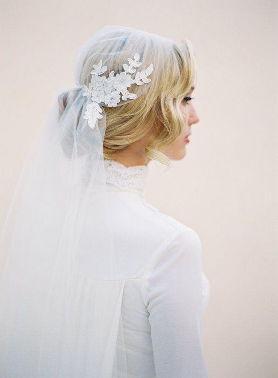 alternative wedding veil