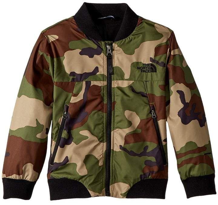 83512068e The North Face Kids - Flurry Wind Bomber Jacket Boy's Coat ...