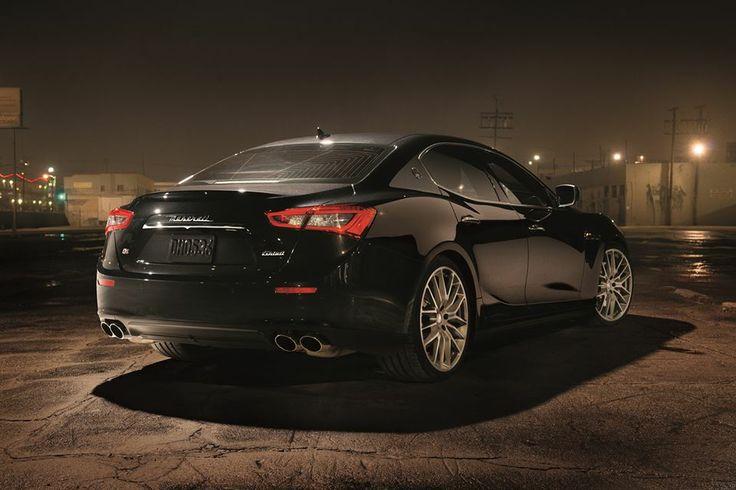Build your dream Maserati Ghibli using the online configurator.
