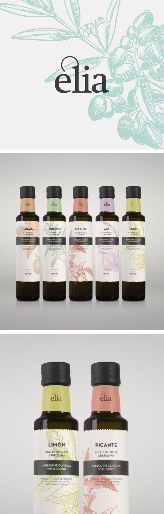 Elia Olive Oil Packaging by Atipus | Fivestar Branding Agency – Design and Branding Agency & Inspiration Gallery