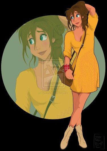 Jane from Tarzan Disney University