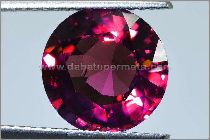 Sparkling Hot GARNET Crystal Mulus + Bling-Bling - BRG 014
