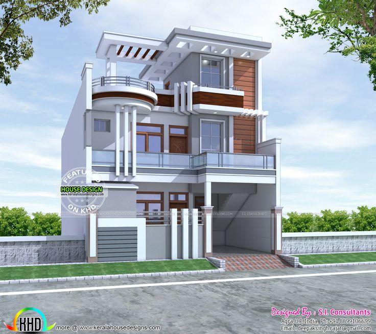 sq ft cute decorative contemporary home kerala home design floor sq ft modern contemporary home design kerala home design floor