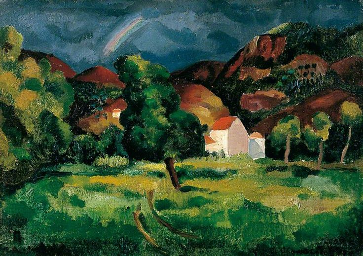 The Rainbow (1927) by Christopher Wood, Mercer Art Gallery, Harrogate