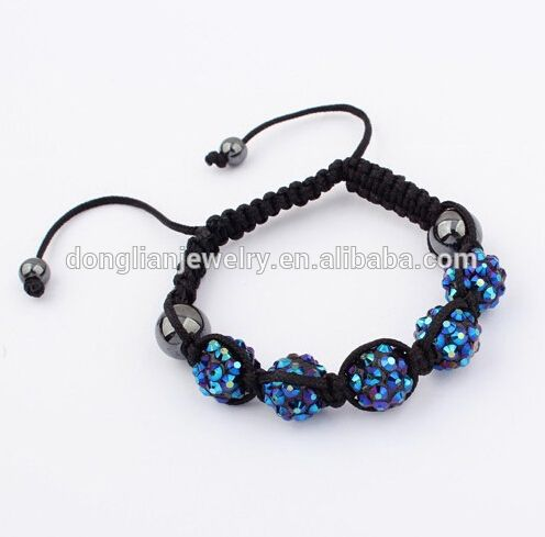 fashion rhinestone ball handmade shamballa bracelet candy colors bracelet, View shamballa bracelets , Betty Lisa Product Details from Dongyang Shuangfeng Jewelry Factory on Alibaba.com