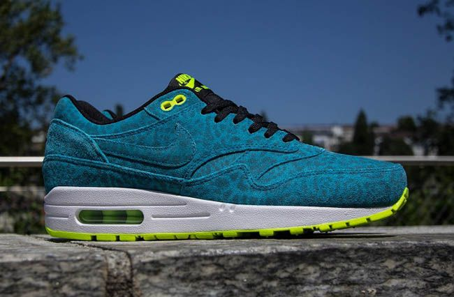 "Nike Air Max 1 FB ""Current Blue Leopard"""