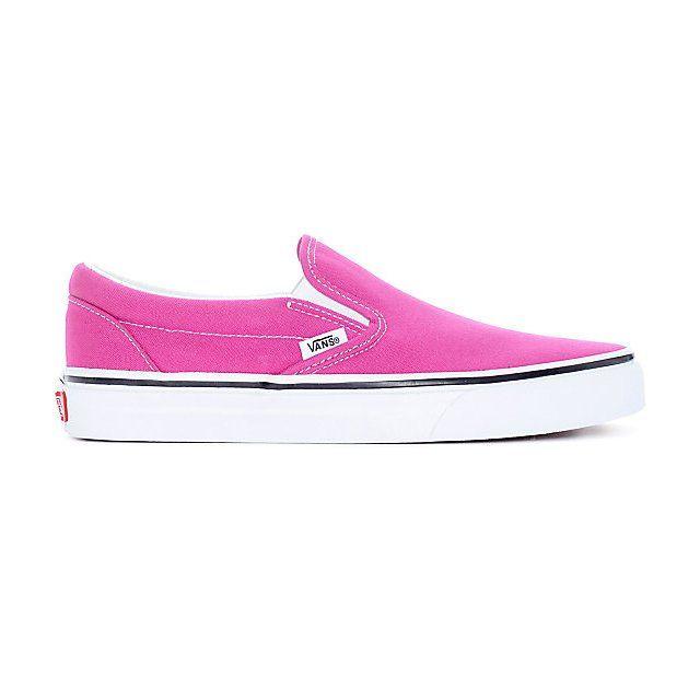 Vans Classic Slip-On Hot Pink/True