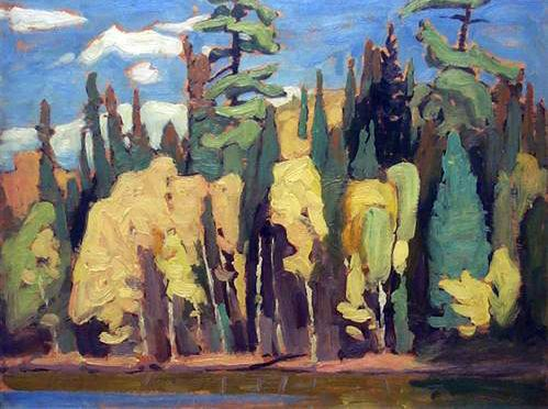 Algoma Sketch c.1920 Lawren Harris