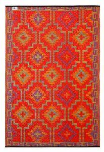 Lhasa Indoor/Outdoor Rug via @mrs. french *Indooroutdoor, Orange, Prayer Rugs, Fab Habitat, Violets, Indoor Outdoor Rugs, Fabhabitat, Lhasa,  Prayer Mats