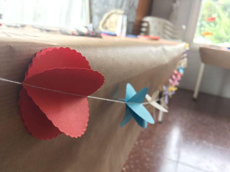 Guirnalda paper - Handmade
