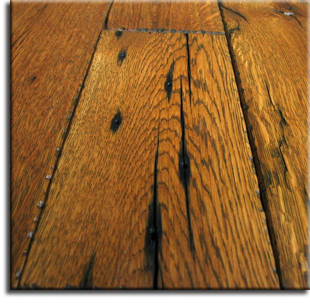 how to clean hand scraped hardwood floors