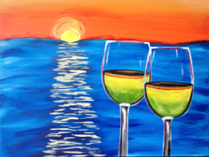 45 best may paintings images on pinterest painted canvas for Wine and paint orlando
