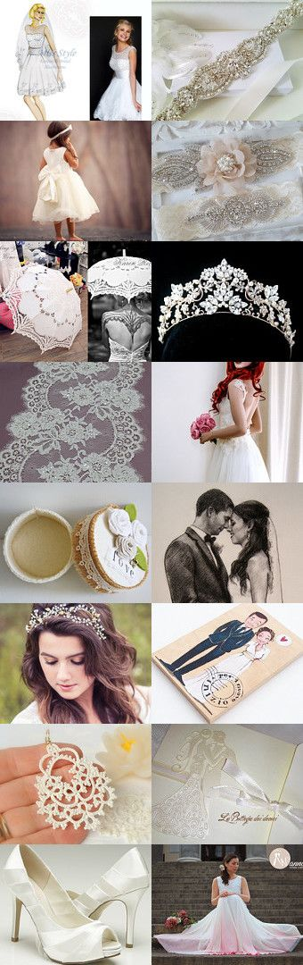 ♥ Wedding ♥ by Miss Style on Etsy--Pinned+with+TreasuryPin.com