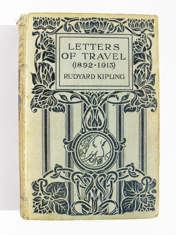 Sale  50% off. Letters of Travel 1892-1913 by Rudyard