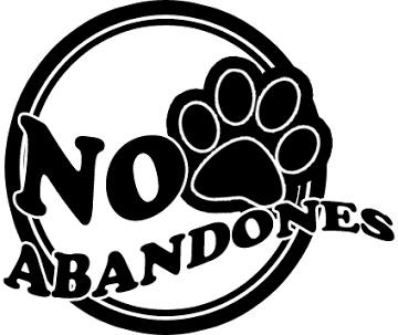 NO al maltrato animal, no abandones
