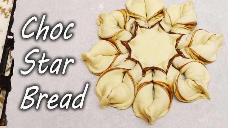 How to Make Nutella Chocolate Star Bread - Christmas Treat OOOOOHHHHH MMAAAHHHHHHHH GEEEEEERRRRRDDDDDD!!!!!!