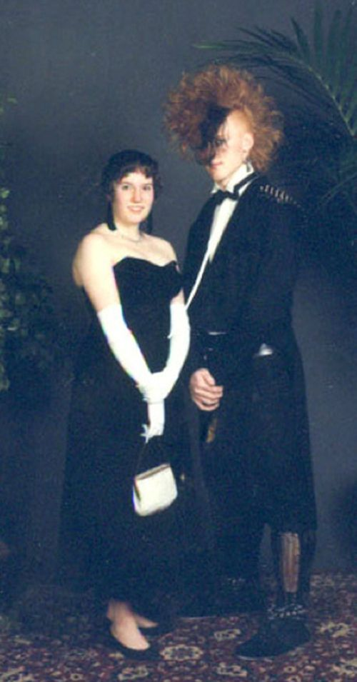 35 Ridiculous '80s Prom Photos  ~Oh my