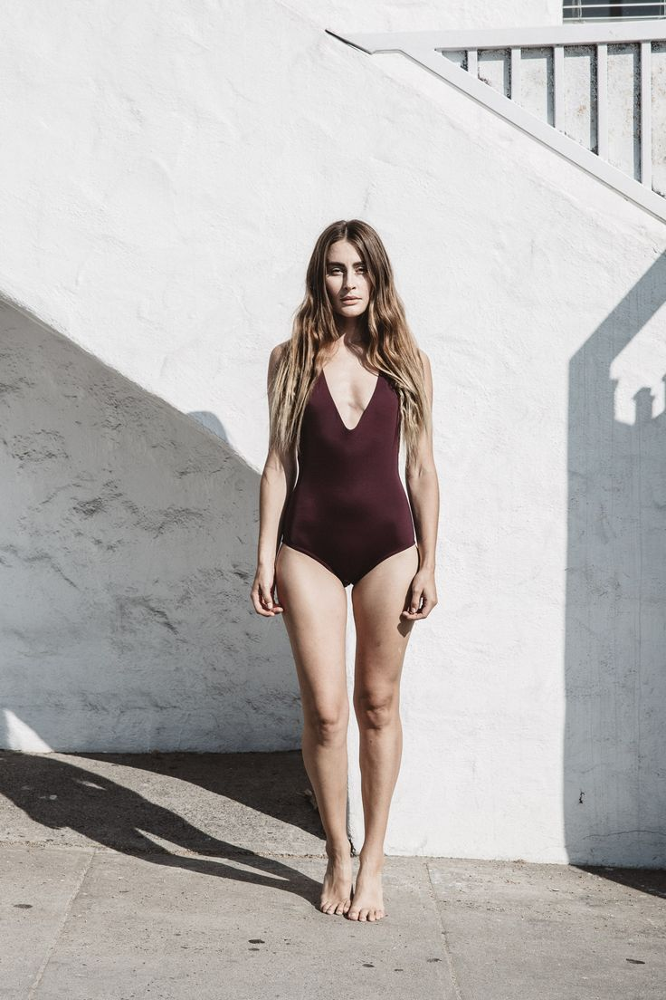 Wearing MANTA Is All About The Simple Pleasures. Our MALLORY Maillot  Exemplifies This, With
