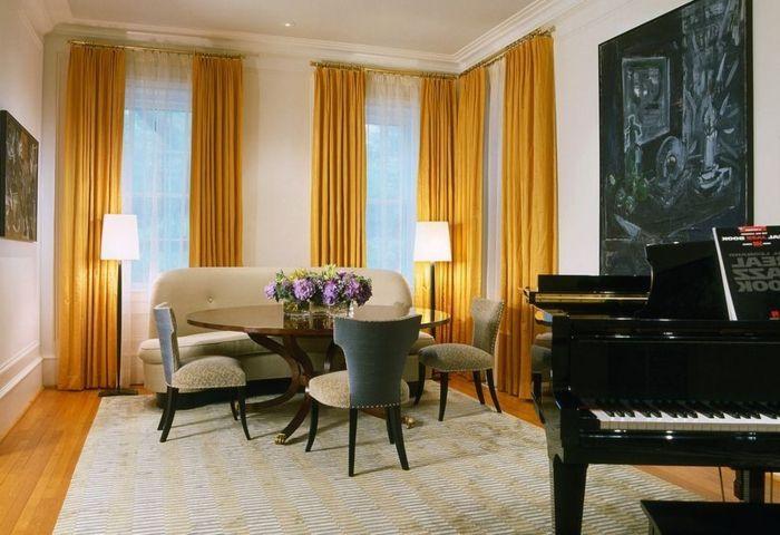 M s de 25 ideas incre bles sobre cortinas salon en for Ver cortinas de salon comedor