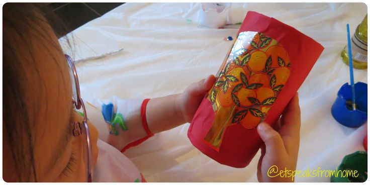 How to make Chinese New Year Firecracker #8 - ET Speaks From Home