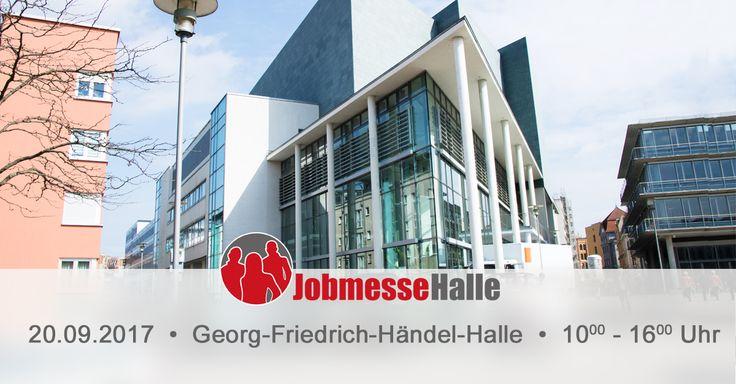 Jobs-Aus- & Weiterbildungen. Komm auf die Jobmesse Halle am 20.09.2017 in der Georg-Friedrich-Händel-Halle.