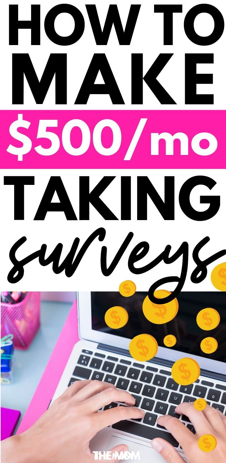 How to Make $500/Month With Online Surveys – a Step-by-Step Guide – The Million Dollar Mama | Make Money From Home | Get Healthy | Live Your Best Life