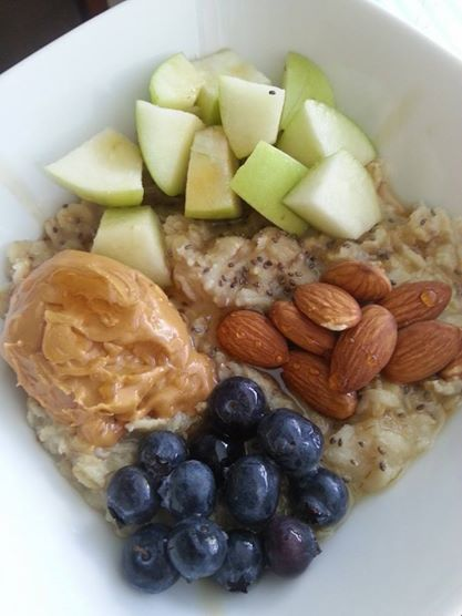 21 Day Fix Approved Food Clean Eating Breakfast Oatmeal Weight Loss Beachbody Coach Kena Smith https://www.facebook.com/Mrs.Smith.73104