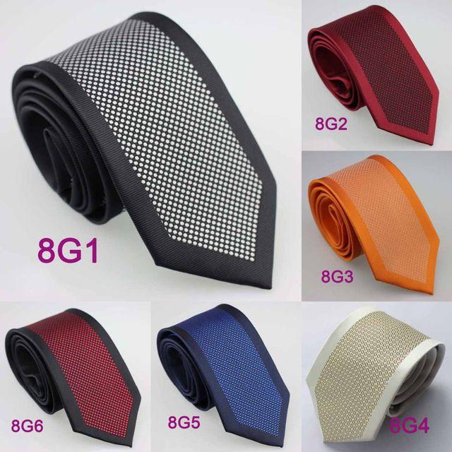 YIBEI Coachella Cravates Polka Dot Cravate Taches Frontière Hommes Cravates En Microfibre de Mode 8.5 cm De Mariage Cravate Formelle Jacquard tissé